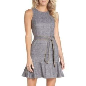 NWT Chelsea28 Sleeveless Plaid Dress